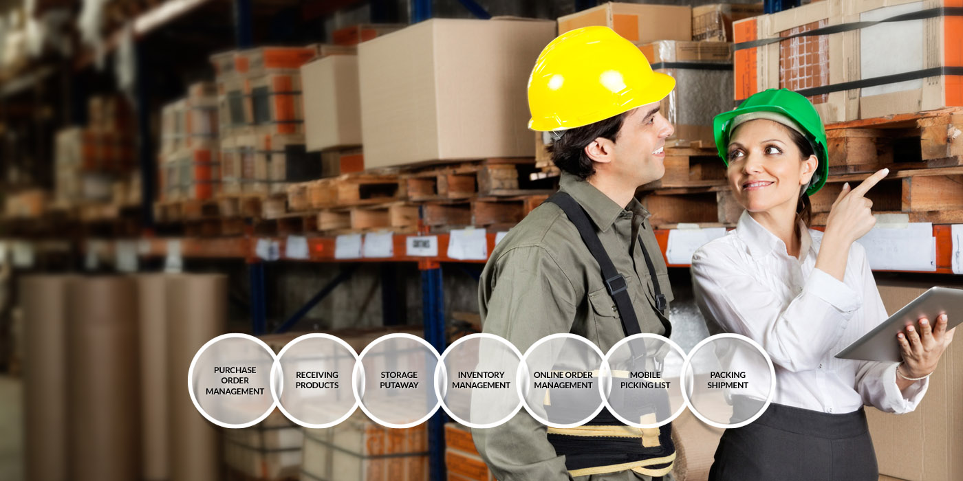 Easy and affordable Warehouse Management system